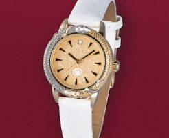 財運白蛇時計